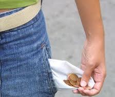Cuando tienes poco dinero...